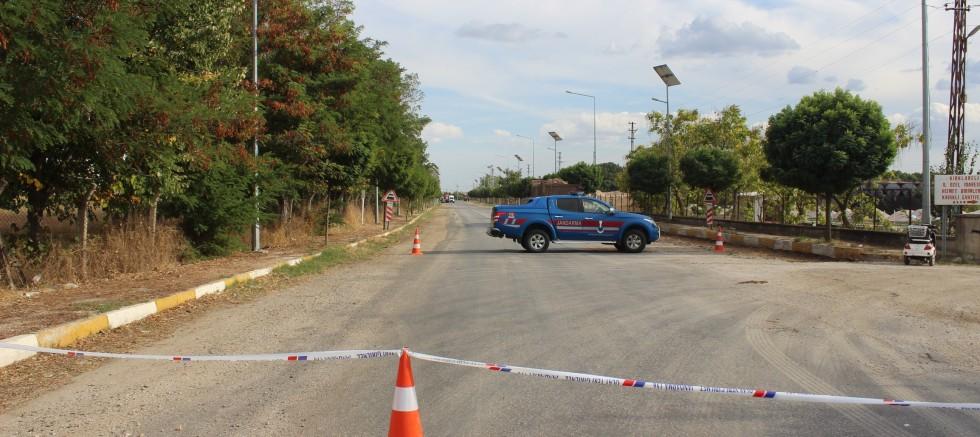 Arazide bulunan el bombası imha edildi