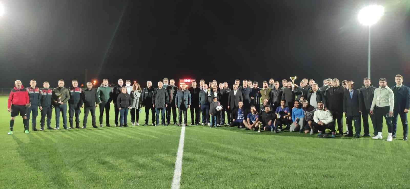 Ergene Kaymakamlığı Futbol Turnuvası Sona Erdi