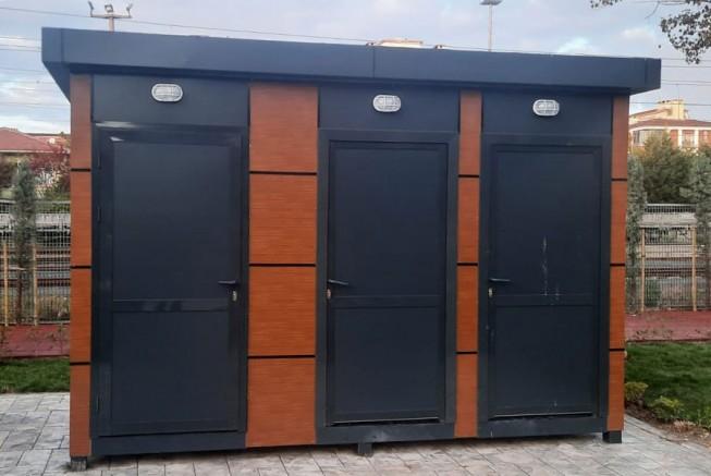 Tekirdağ BB'den En İşlek Caddeye Mobil Tuvalet